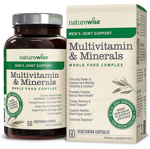 Image of Men's Multivitamin & Minerals with Joint Support