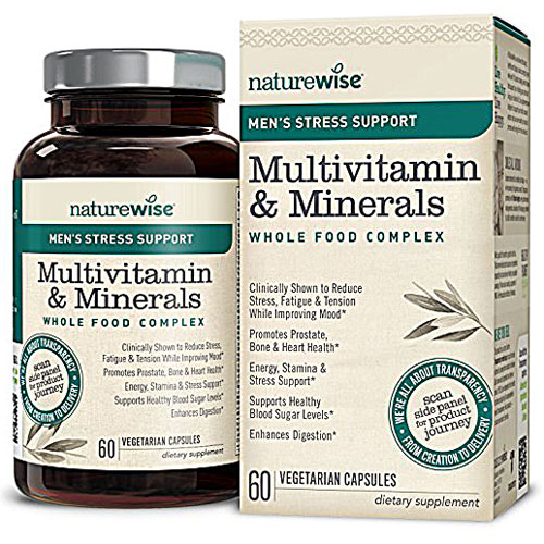 Image of Men's Multivitamin & Minerals with Stress Support