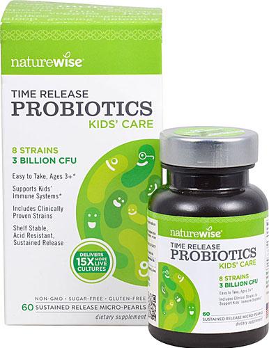 Image of Kid's Care Time Release Probiotics 3 Billion CFU 8 Strains