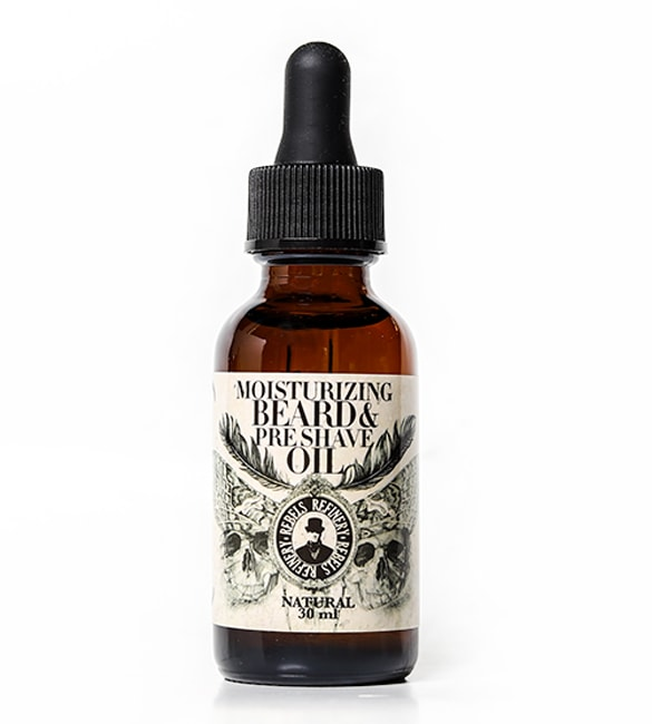 Image of Moisturizing Beard & Pre-Shave Oil