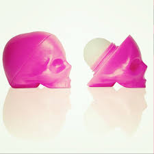 Image of Luxuria Skull Lip Balm Pink - Passion Fruit