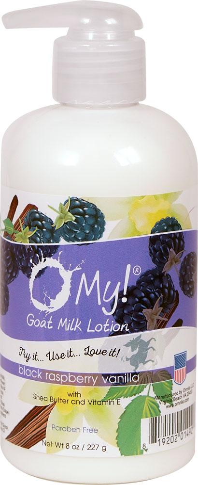 Image of Lotion goat Milk Black Raspberry Vanilla