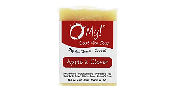 Image of Soap Bar Goat Milk Apple & Clover
