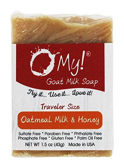 Image of Soap Bar Goat Milk Oatmeal and Honey