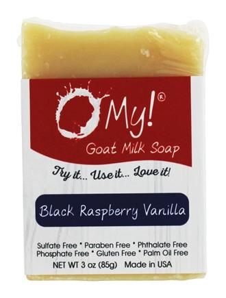 Image of Soap Bar Goat Milk Raspberry Vanilla