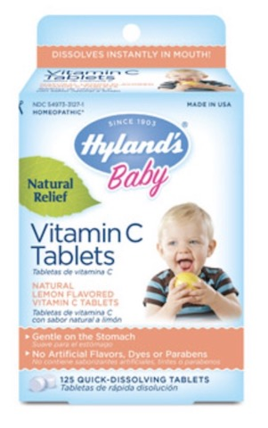 Image of Baby Vitamin C Tablets 25 mg