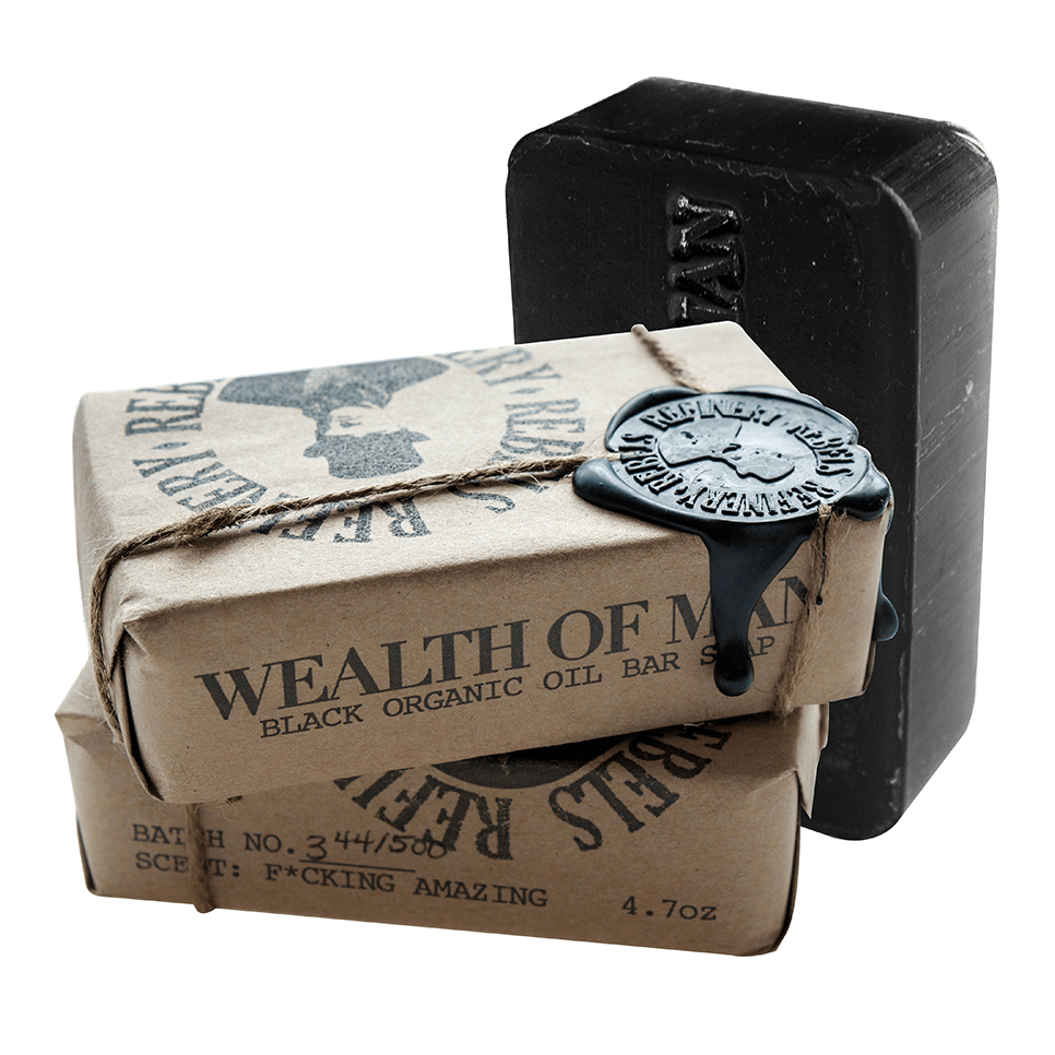 Image of Wealth of Man Organic Oil Bar Soap