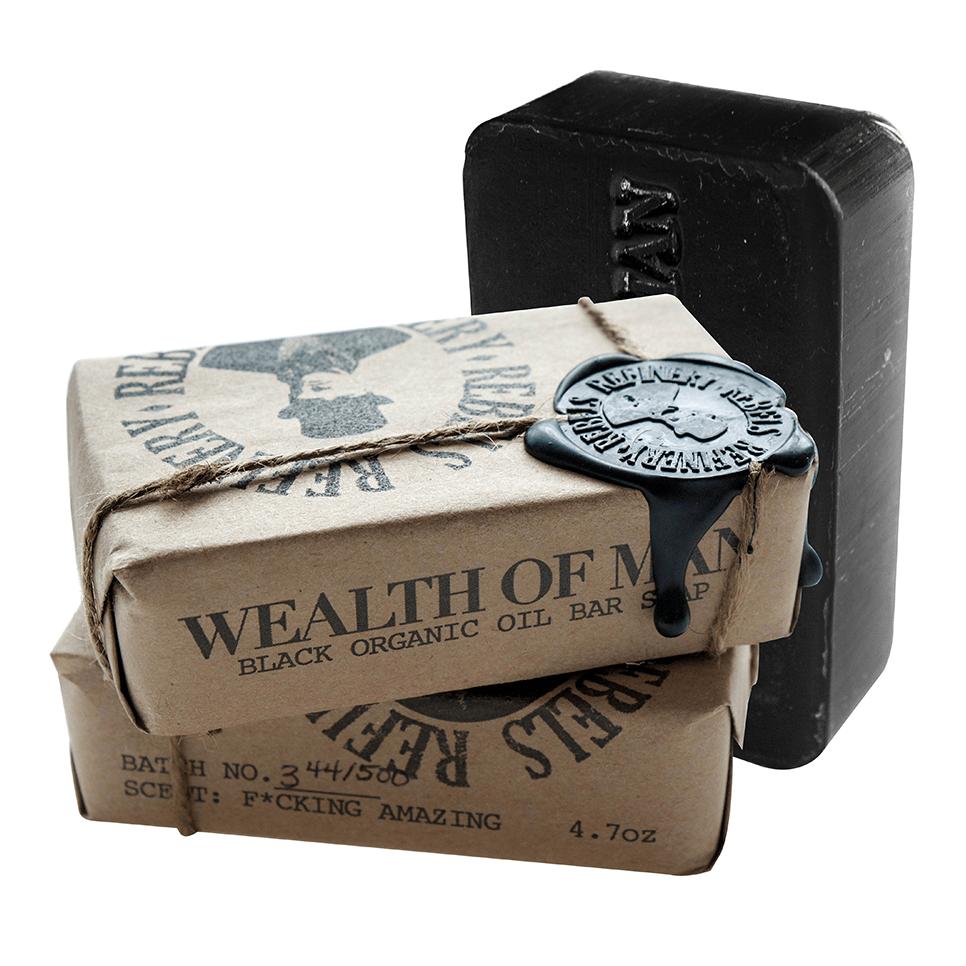 Image of Wealth of Man Organic Oil Bar Soap