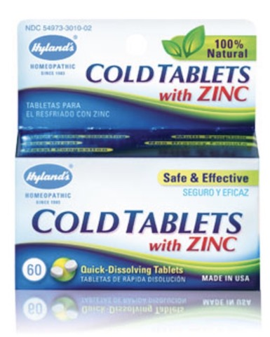 Image of Cold Tablets with Zinc