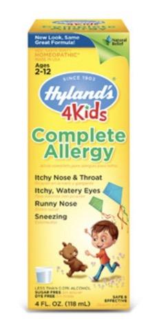 Image of 4 Kids Complete Allergy Liquid