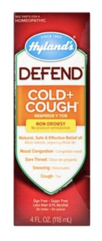 Image of DEFEND Cold & Cough Liquid