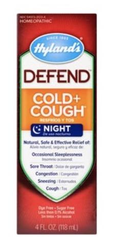 Image of DEFEND Cold & Cough Night Liquid