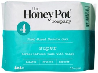 Image of Herbal Super Absorbancy Pads with Wings