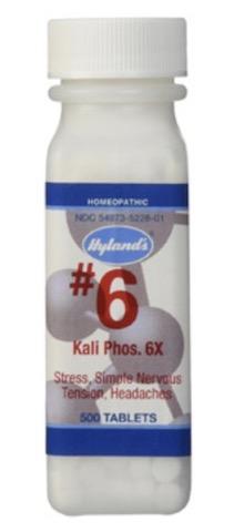 Image of #6 Kali Phos 30X