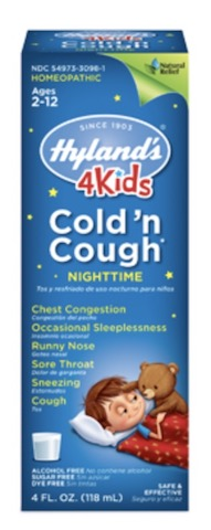 Image of 4 Kids Cold 'n Cough Liquid Night Time Liquid