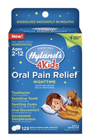 Image of 4 Kids Oral Pain Relief Night Time Tablet