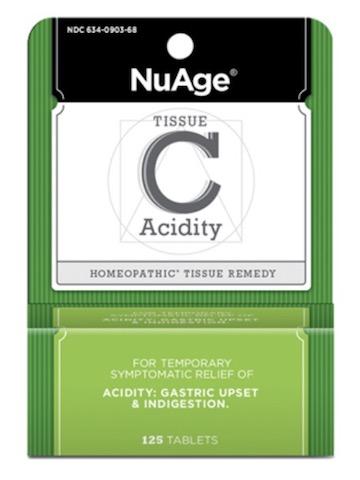 Image of Tissue C: Acidity