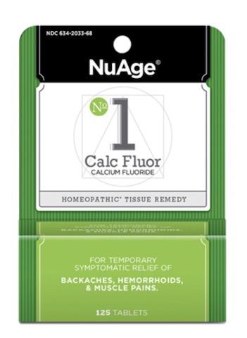 Image of #1 Calc Fluor: Calcium Fluoride