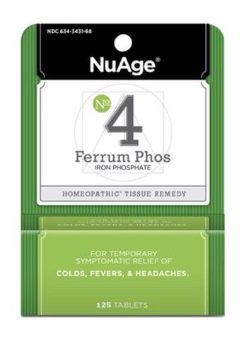 Image of #4 Ferrum Phos: Iron Phosphate