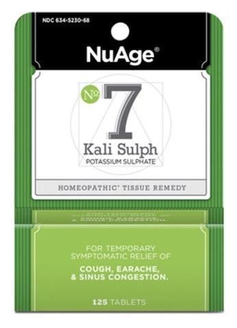 Image of #7 Kali Sulph: Potassium Sulphate