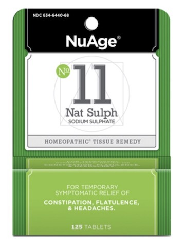 Image of #11 Nat Sulph: Sodium Sulphate