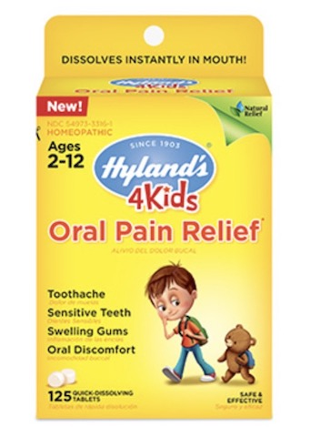 Image of 4 Kids Oral Pain Relief Tablet