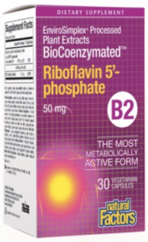 Image of BioCoenzymated Riboflavin 5'-phosphate 50 mg