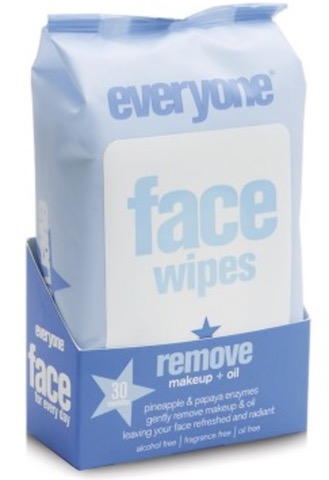 Image of Everyone Skincare Face Make-Up Removing Wipes
