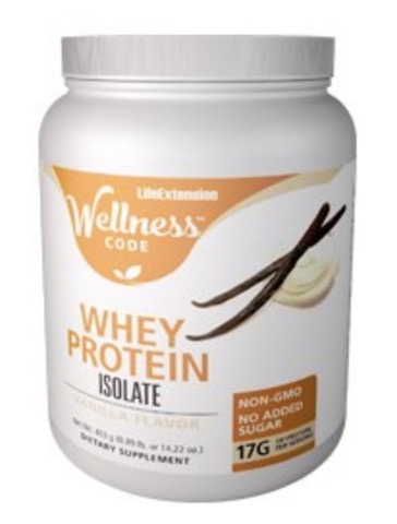 Image of Wellness Code Whey Protein Isolate Powder Vanilla
