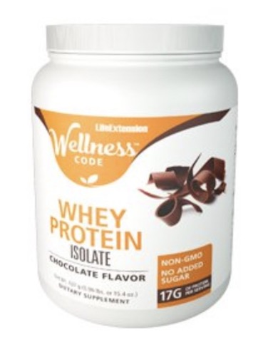 Image of Wellness Code Whey Protein Isolate Powder Chocolate