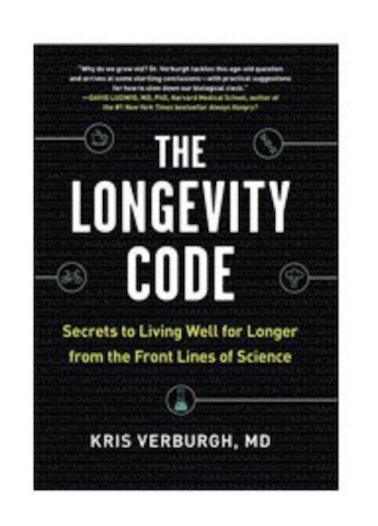 Image of The Longevity Code by Kris Verburgh MD Hardcover