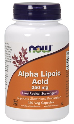 Image of Alpha Lipoic Acid 250 mg