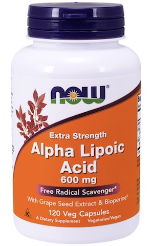 Image of Alpha Lipoic Acid 600 mg