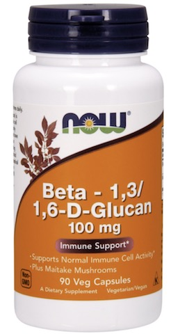 Image of Beta 1,3/1,6 D-Glucan 100 mg