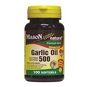 Image of Odorless Garlic Oil 500 mg