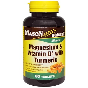 Image of Magnesium & Vitamin D With Turmeric