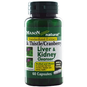 Image of Milk Thistle/Cranberry Liver & Kidney Cleanser