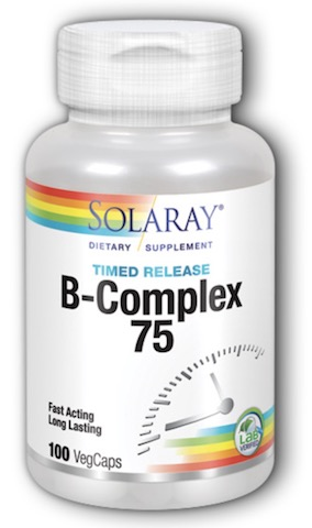Image of B-Complex 75 mg Timed Release