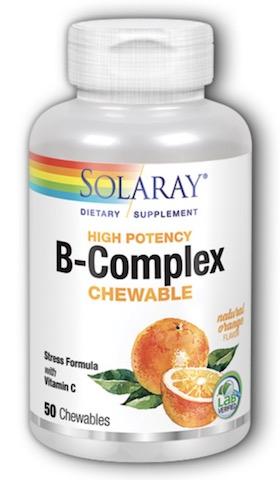 Image of B-Complex Chewable Mandarin Orange