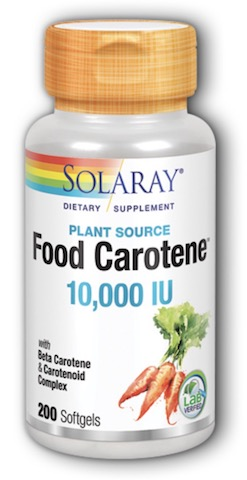 Image of Food Carotene 10,000 IU
