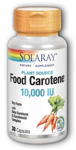 Image of Food Carotene 10,000 IU Dry