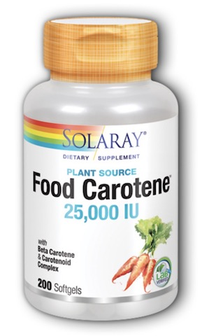 Image of Food Carotene 25,000 IU