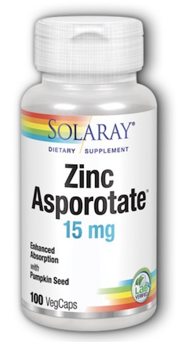 Image of Zinc Asporotate 15 mg