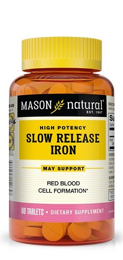 Image of Slow Release Iron Tablets