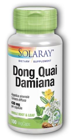 Image of Dong Quai with Damiana 215/215 mg
