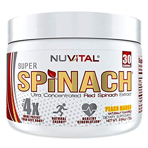 Image of Super Spinach Superfood Powder - Peach Mango Flavor