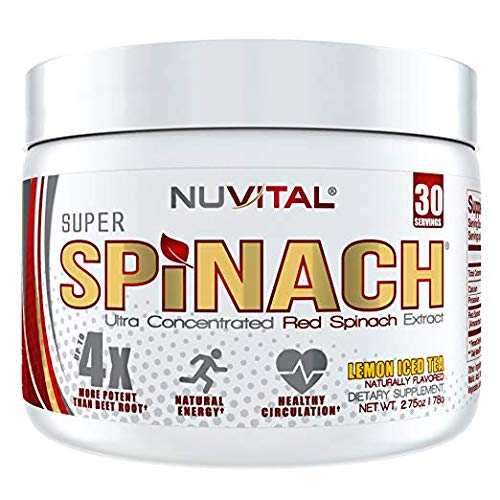 Image of Super Spinach Superfood Powder - Lemon Iced Tea Flavor