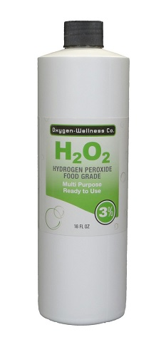 Image of H2 O2 Hydrogen Peroxide 3% Food Grade Liquid