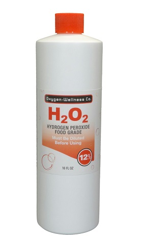 Image of H2 O2 Hydrogen Peroxide 12% Food Grade Liquid