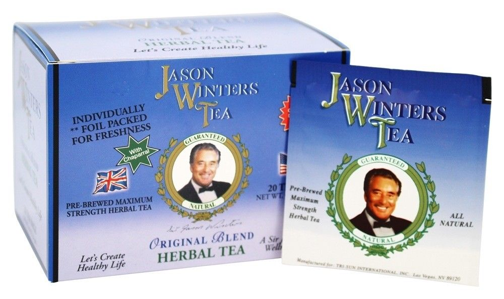 Image of Jason Winters Tea Bags ORIGINAL BLEND with Chaparral